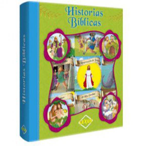 HISTORIAS BIBLICAS 6 LIBRITOS ACARTONADO