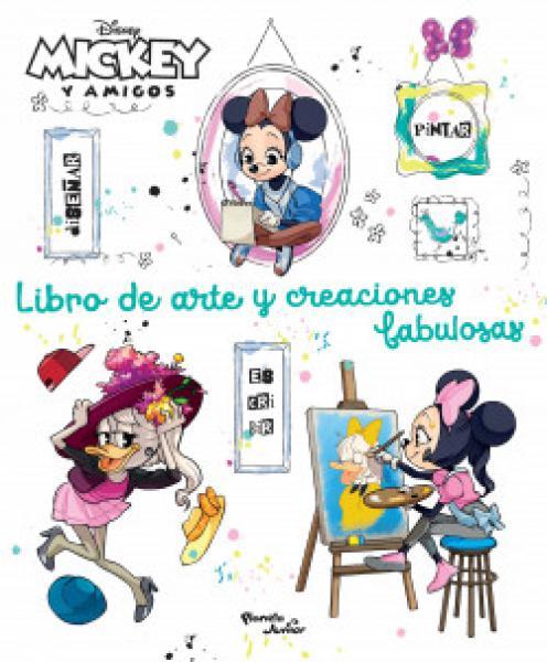 MINNIE Y AMIGOS LIBRO DE ARTE Y CREACION