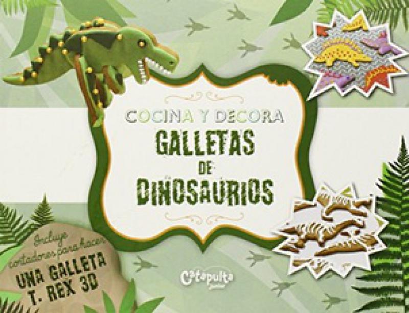 COCINA Y DECORA GALLETAS DE DINOSAURIOS