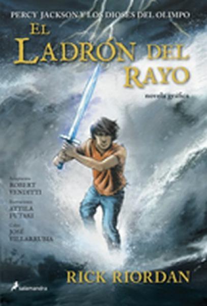 EL LADRON DEL RAYO (NOVELA GRAFICA)