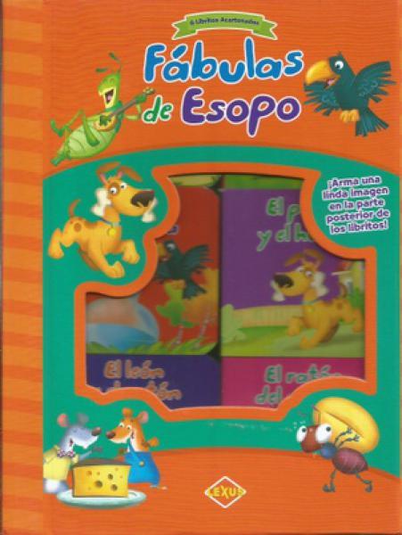 FABULAS DE ESOPO 6 LIBRITOS ACARTONADOS