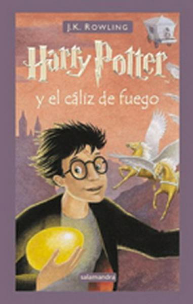 HARRY POTTER 4 - EL CALIZ DE FUEGO