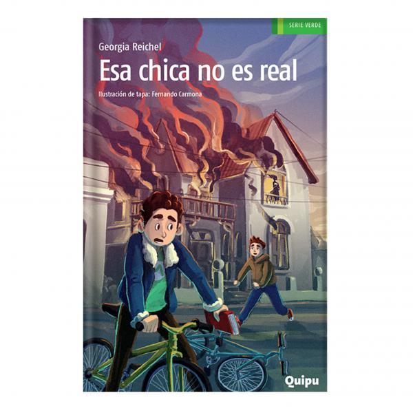 ESA CHICA NO ES REAL