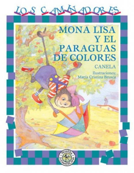 MONA LISA Y EL PARAGUAS DE COLORES