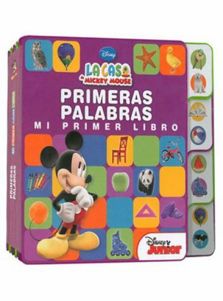 DISNEY - PRIMERAS PALABRAS MI PRIMER LIB