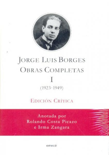 OBRAS COMPLETAS - TOMO 1 (ED.CRITICA)