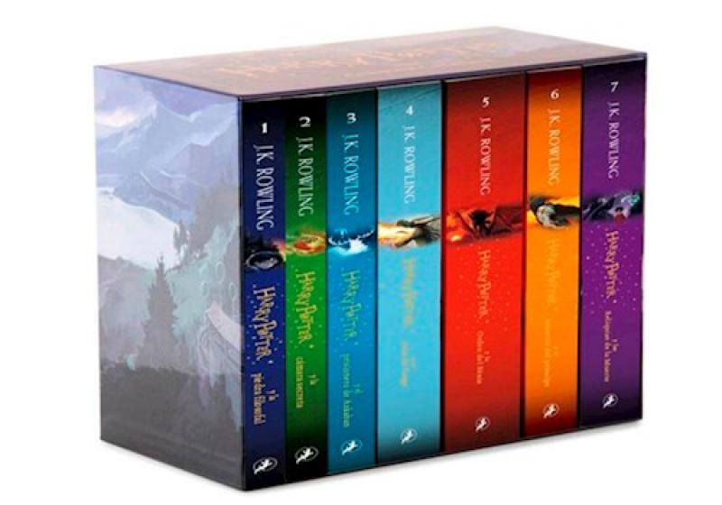 HARRY POTTER - SAGA BOX 7 TOMOS