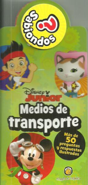 SABIONDOS DISNEY MEDIOS DE TRANSPORTE