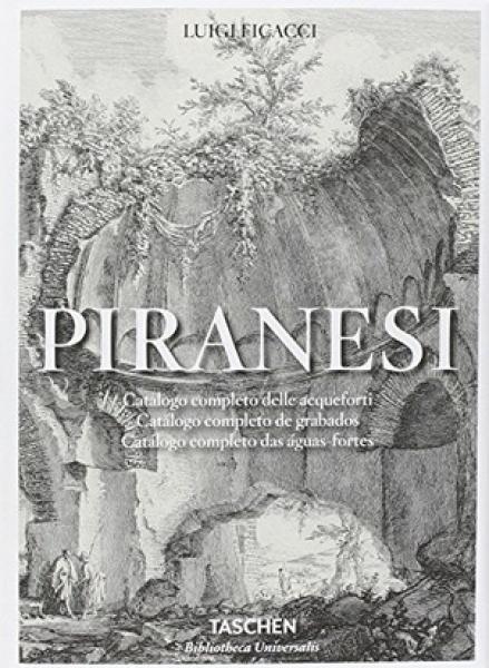 PIRANESI - CATALOGO COMPLETO DE GRABADOS