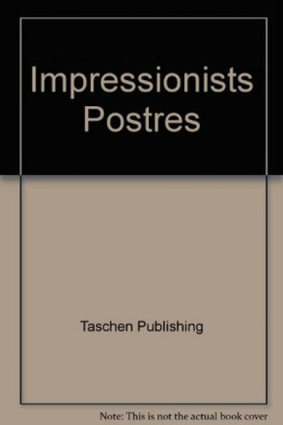 IMPRESSIONISTS - 6 POSTERS