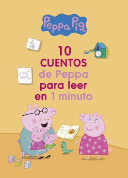 10 CUENTOS DE PEPPA PARA LEER EN 1 MINUT