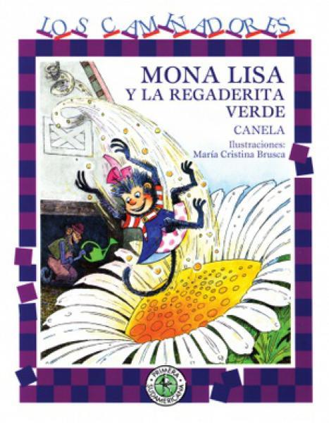 MONA LISA Y LA REGADERITA VERDE