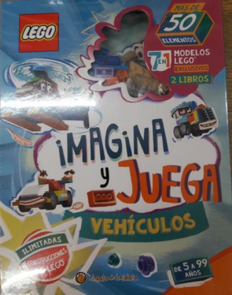 LEGO - VEHICULOS - IMAGINA Y JUEGA
