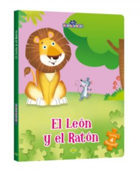 EL LEON Y EL RATON (PUZZLE)