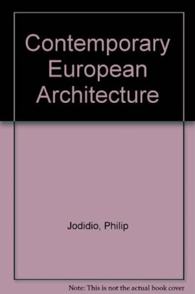 CONTEMPORARY EUROPEAN ARCHITECTS 3