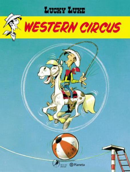 LUCKY LUKE 10 WESTERN CIRCUS