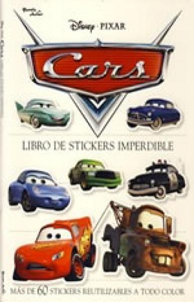 CARS: LIBRO DE STICKERS IMPERDIBLE