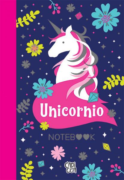 UNICORNIO - NOTEBOOK - CUADERNO/ANOTADOR