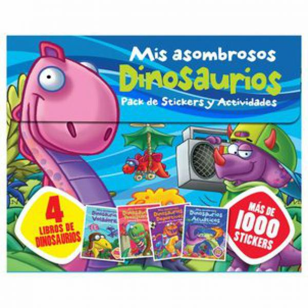MIS ASOMBROSOS DINOSAURIOS - STICKERS