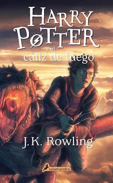 HARRY POTTER 4 - EL CALIZ DE FUEGO
