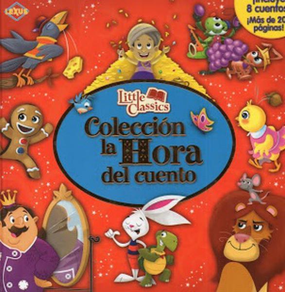 COLECCION LA HORA DEL CUENTO (ROJO)
