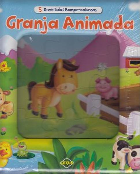 GRANJA ANIMADA - 5 ROMPECABEZAS