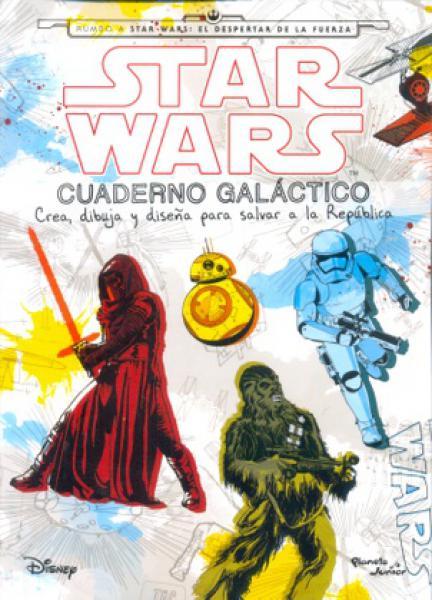 STAR WARS - CUADERNO GALACTICO