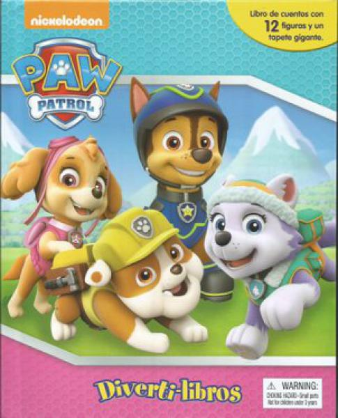 PAW PATROL GIRLS DIVERTI LIBROS