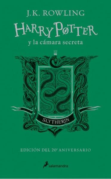 HARRY POTTER 2 - 20º SLYTHERIN