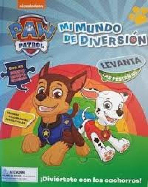 PAW PATROL MI MUNDO DE DIVERSION