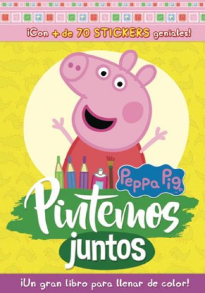 COLOURING BLOCK 1 PEPPA PIG