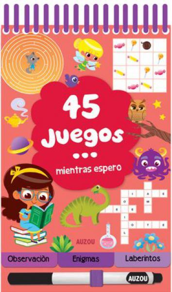 45 JUEGOS MIENTRAS ESPERO