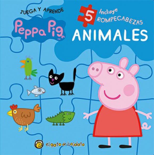 ANIMALES ROMPECABEZAS PEPPA